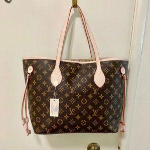 Louis Vuitton  Neverfull MM Shoulder Bag Monogram